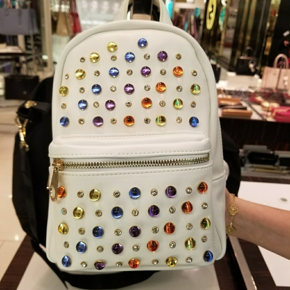 8b3b96d2a32d Studio 33 Bags | Rainbow Jewel Mini Backpack | Poshmark